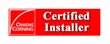Owens Corning Certified Installer